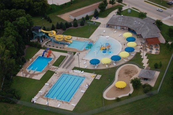 Fairmont Aquatic Park aerial view