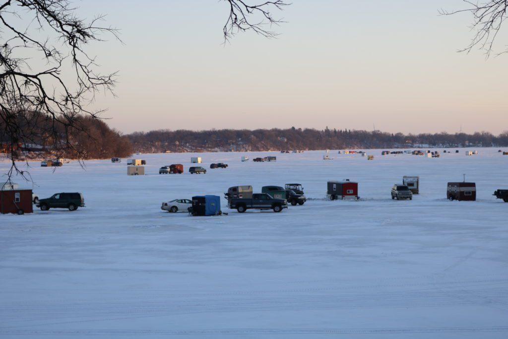 Winter activities in Fairmont